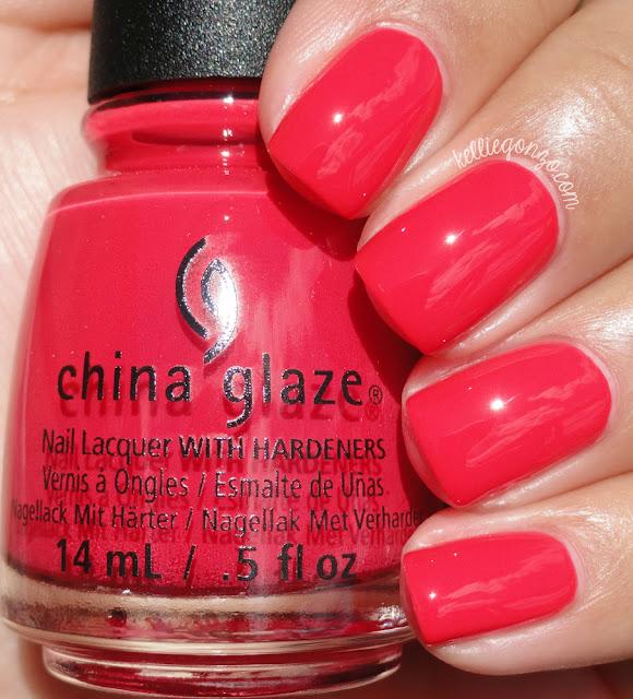 China Glaze Hot Flash