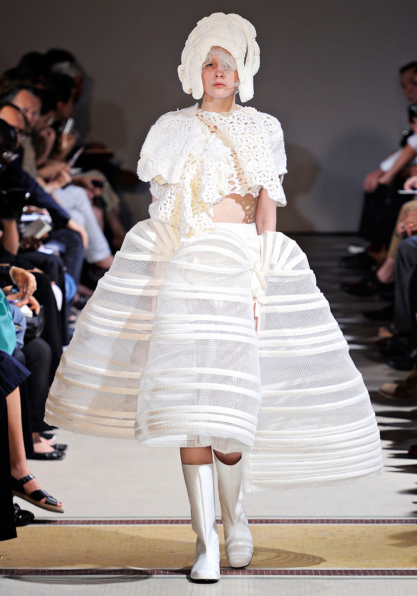 Fashion Runway  Comme des Garons Spring  Summer 2012  Cool Chic Style Fashion