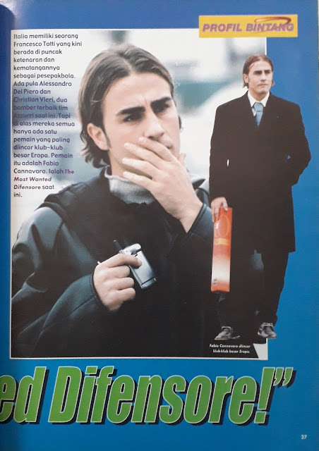 FABIO CANNAVARO THE MOST WANTED DIFENSORE