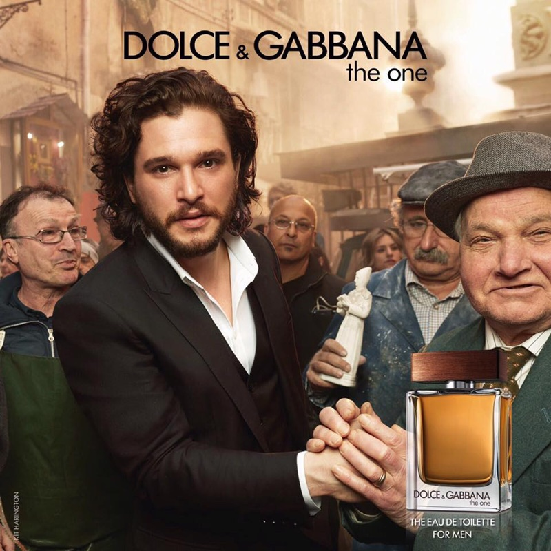 Kit Harington stars in Dolce & Gabbana 'The One for Men' Eau de Toilette campaign