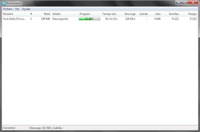 Un nuevo gestor BitTorrent ligero y con lo justo para un buen funcionamiento