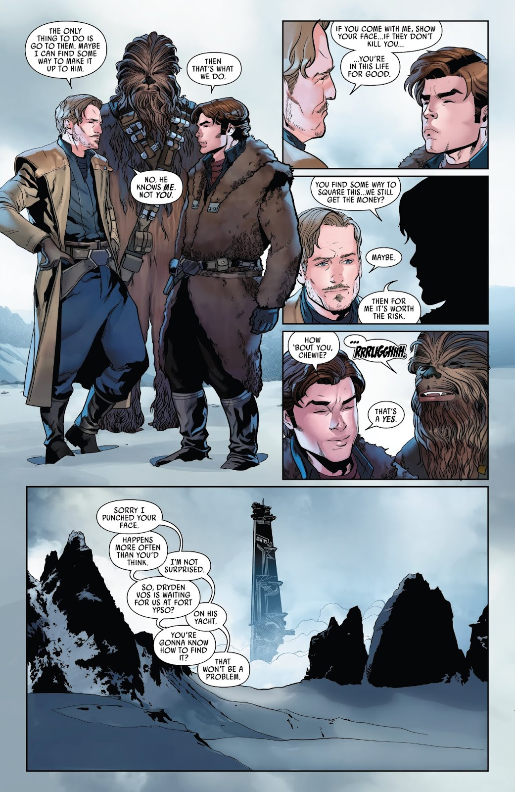 Read online Solo: A Star Wars Story Adaptation comic -  Issue #2 - 19