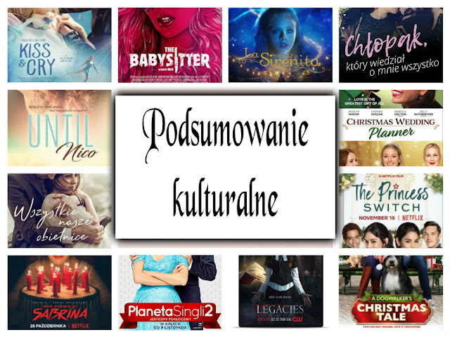 Hity i kity miesiąca Listopad & Grudzień 2018- książki, filmy, muzyka i seriale :)