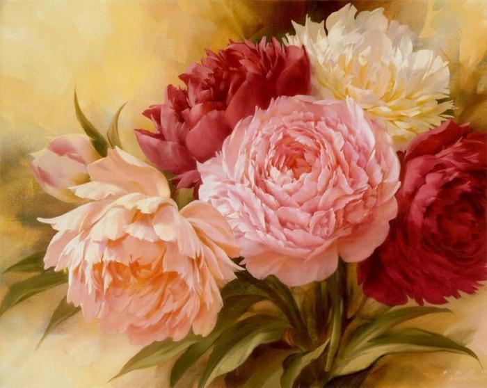 Рисунки цветов. Игорь Левашов 15