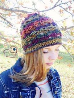 Southwest slouchy crochet pattern,  www.KristiSimpson.net