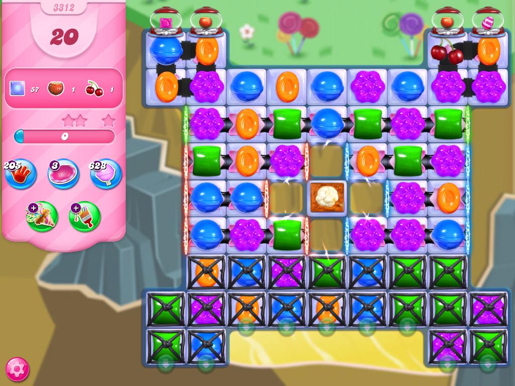 Candy Crush Saga level 3312