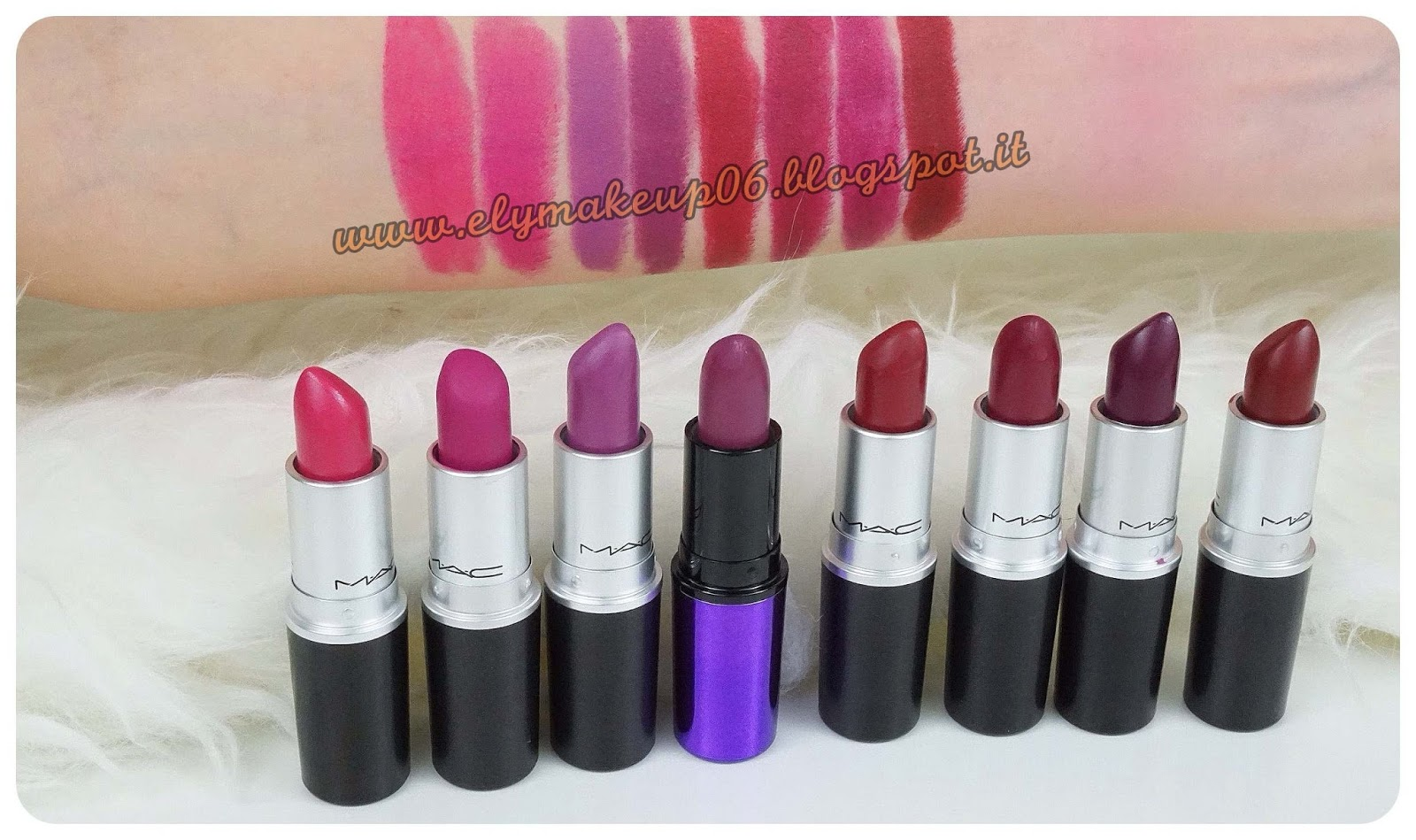elymakeup my mac lipstick collection i miei rossetti