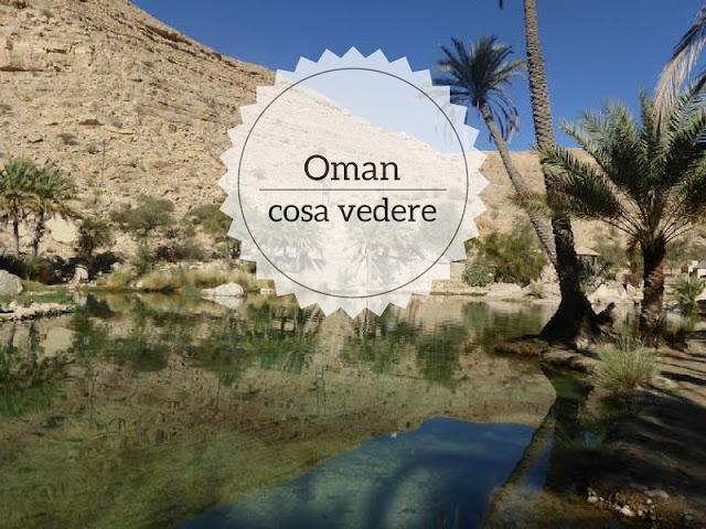 Alla scoperta dell'Oman: cosa vedere.  Wadi bani Khalid