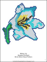 Free Brick Stitch Beading Pattern Download.