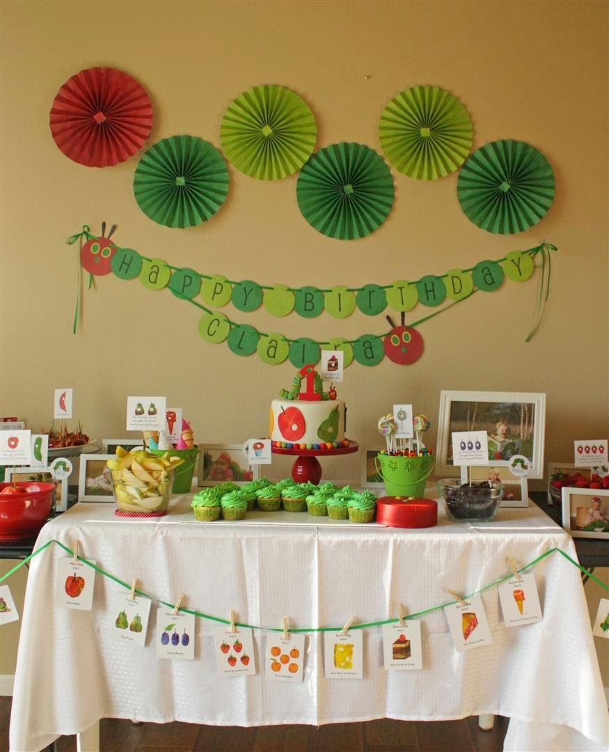 Patty Cakes Bakery: The Very Hungry Caterpillar 1st Birthday