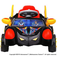 Mobil Mainan Anak SHP SBM627 Super Hero Mobile
