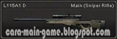 Senjata Point Blank L115A1 D