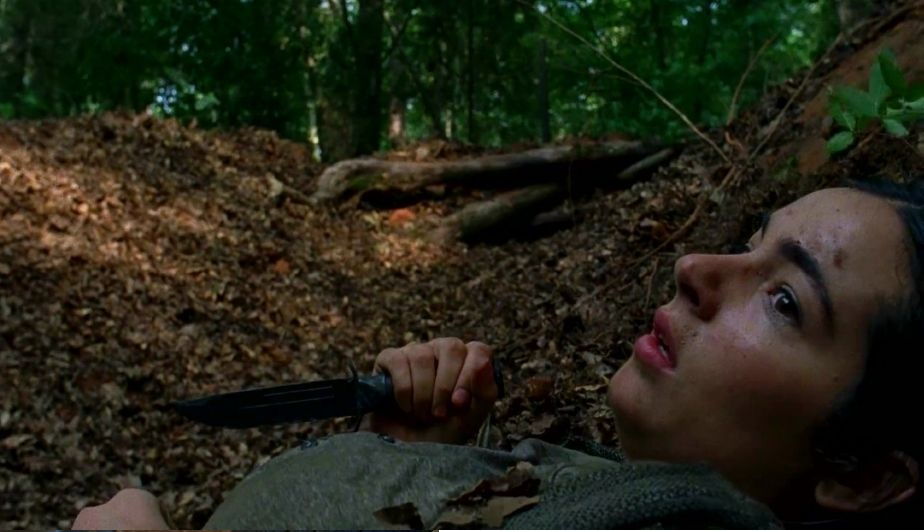 Tara, en The Walking Dead 7x06 Swear