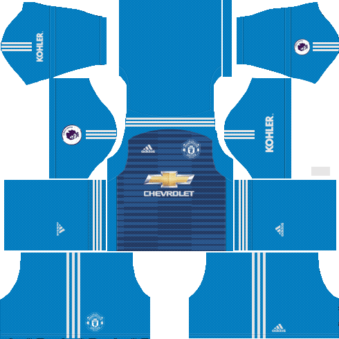 Manchester United 2018 - 2019 Dream League Soccer Kits & FTS15