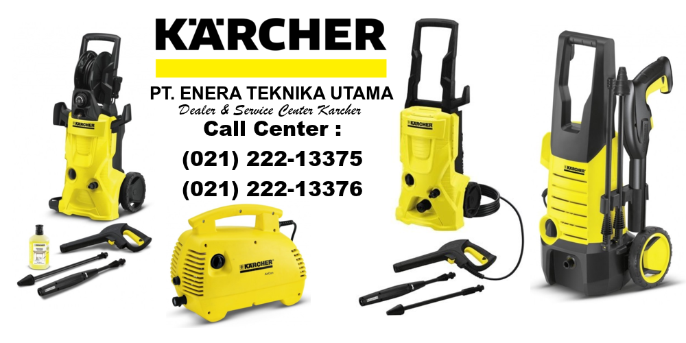 Distributor & Service Center Karcher Indonesia | Dealer Resmi Karcher | Jual Karcher | Agen Resmi Karcher | Harga Karcher Karcher High pressure washer K 2 Compact