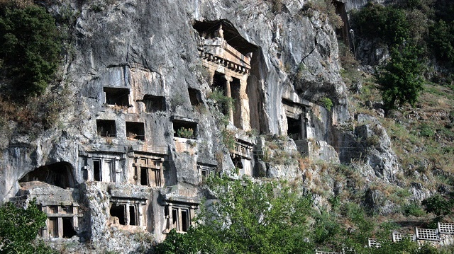 Rock Tombs - Telmessos Ancient City - Fethiye