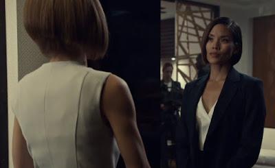 Evie Cho antes de caer