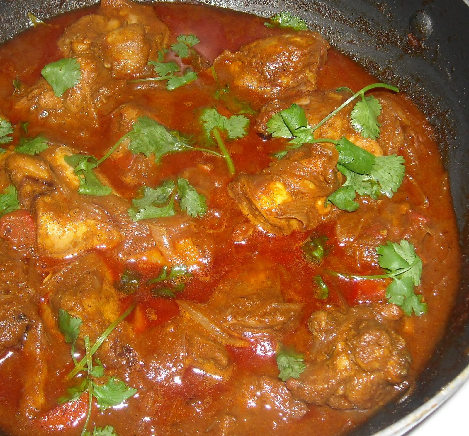 Non-Veg: Chicken Curry