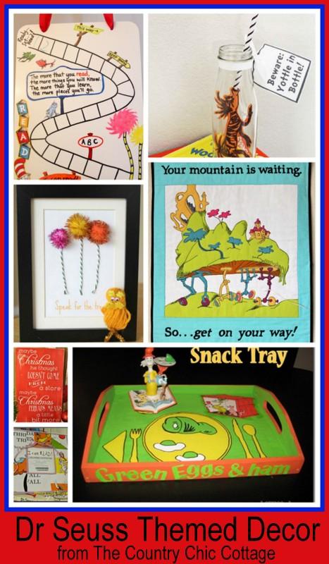 Dr. Seuss Room Decor