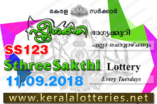 "KeralaLotteries.net, ""kerala lottery result 11.9.2018 sthree sakthi ss 123"" 11th september 2018 result, kerala lottery, kl result,  yesterday lottery results, lotteries results, keralalotteries, kerala lottery, keralalotteryresult, kerala lottery result, kerala lottery result live, kerala lottery today, kerala lottery result today, kerala lottery results today, today kerala lottery result, 11 09 2018, 11.09.2018, kerala lottery result 11-09-2018, sthree sakthi lottery results, kerala lottery result today sthree sakthi, sthree sakthi lottery result, kerala lottery result sthree sakthi today, kerala lottery sthree sakthi today result, sthree sakthi kerala lottery result, sthree sakthi lottery ss 123 results 11-9-2018, sthree sakthi lottery ss 123, live sthree sakthi lottery ss-123, sthree sakthi lottery, 11/9/2018 kerala lottery today result sthree sakthi, 11/09/2018 sthree sakthi lottery ss-123, today sthree sakthi lottery result, sthree sakthi lottery today result, sthree sakthi lottery results today, today kerala lottery result sthree sakthi, kerala lottery results today sthree sakthi, sthree sakthi lottery today, today lottery result sthree sakthi, sthree sakthi lottery result today, kerala lottery result live, kerala lottery bumper result, kerala lottery result yesterday, kerala lottery result today, kerala online lottery results, kerala lottery draw, kerala lottery results, kerala state lottery today, kerala lottare, kerala lottery result, lottery today, kerala lottery today draw result"