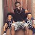 New Adorable Photo Of Paul Okoye And His Twins 'Nathan' And 'Nadia'