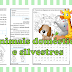TEXTO INFORMATIVO E ATIVIDADES - ANIMAIS DOMÉSTICOS E SILVESTRES - 2º ANO/ 3º ANO