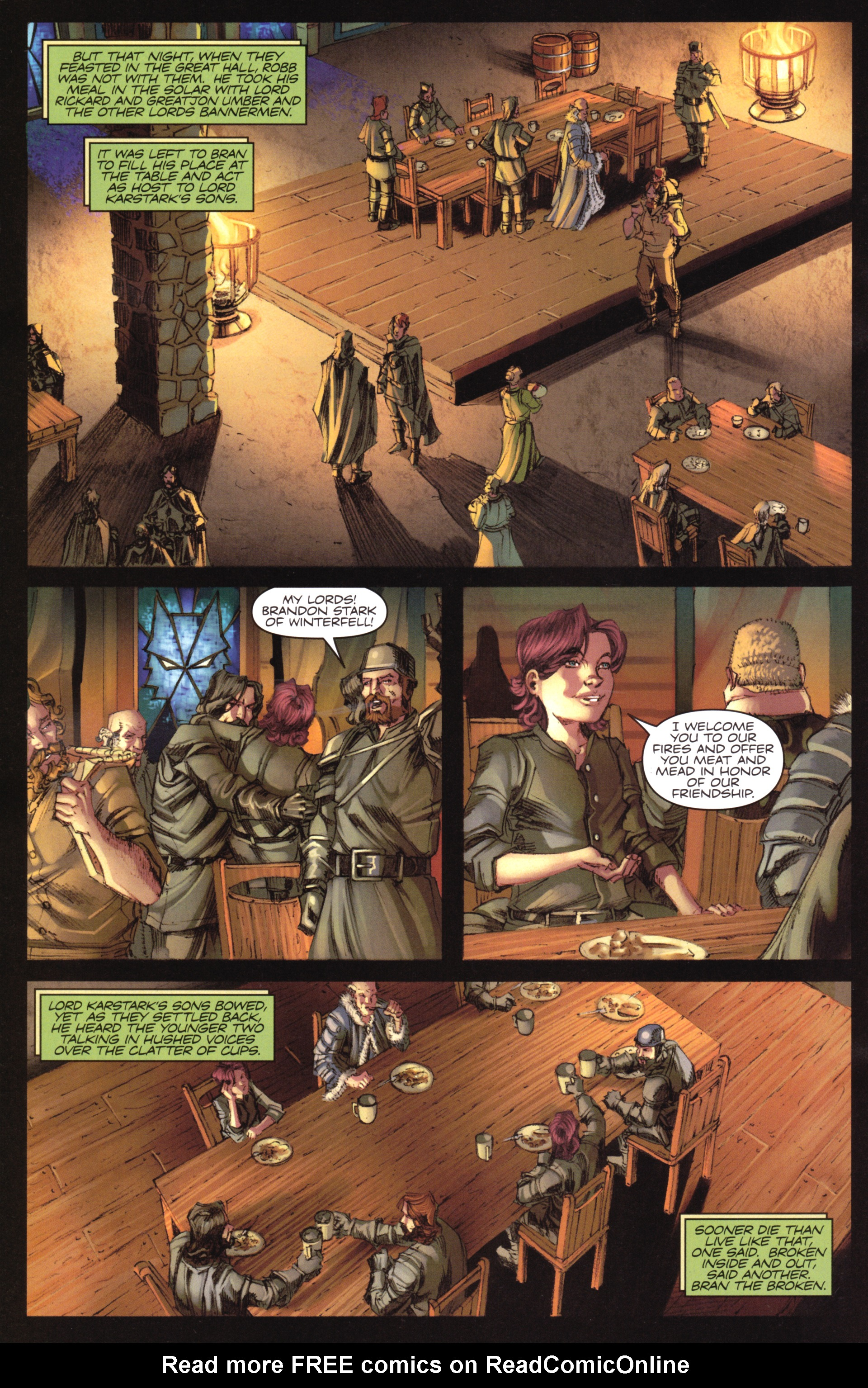 Read online A Game Of Thrones comic -  Issue #17 - 22