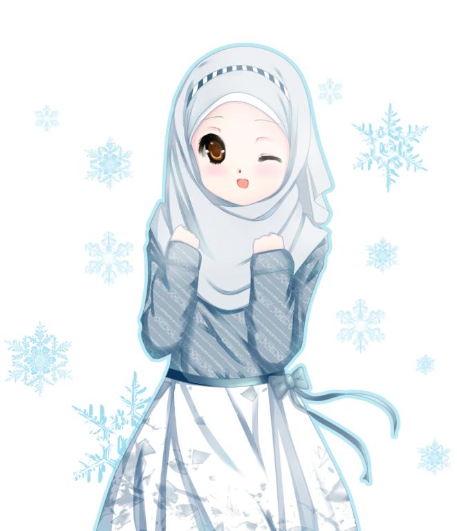 ziyah asbag'z: anime muslimah yang lucu and imut.. :)