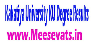 Telangana TS Kakatiya University KU PG Degree Results Download