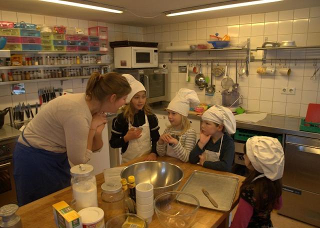 Kinderkookkafe em Amsterdã