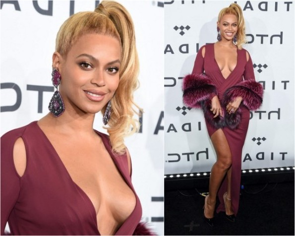 Beyonce Knowles In Philipp Plein At The TIDAL X: 1020