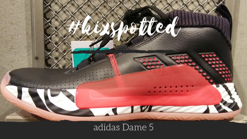 wholesale dealer 68237 f8096 kixspotted  adidas Dame 5   Analykix