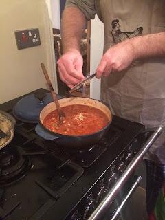 Grating garlic boosts the taste