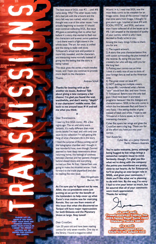 Read online Sigil (2000) comic -  Issue #10 - 25