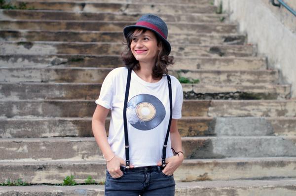 tee-shirt vintage Le typographe