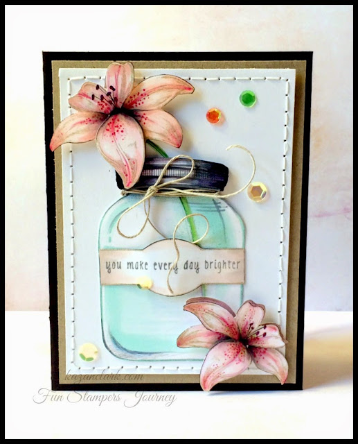Fun Stampers Journey May KOTM