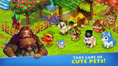 Farmdale  Mod Apk v2.0.3  Money Terbaru 2017
