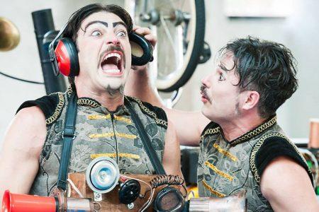 Palco Giratório traz à Jequié o espetáculo Clake, uma comédia com palhaços musicais.