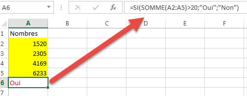 Forume utilisant deux fonctions