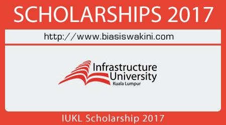 IUKL Scholarship 2017