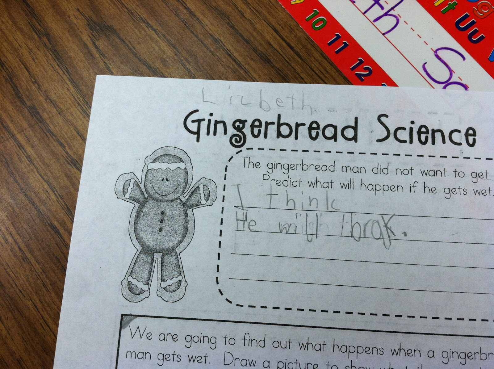 Think All Night Teach All Day Gingerbread Man