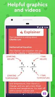 افضل تطبيق لحل جميع المعادلات الرياضية والكيمياء وأسئلة التاريخ من خلال كاميرا الهاتف مجانا للاندرويد , تطبيق Socratic , تطبيق حل المعادلات الرياضية والكيمياء والتاريخ , Socratic , تطبيق لحل جميع المعادلات الرياضية ,