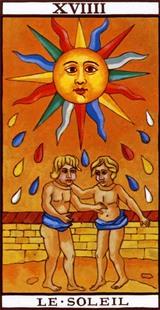 la carte du soleil