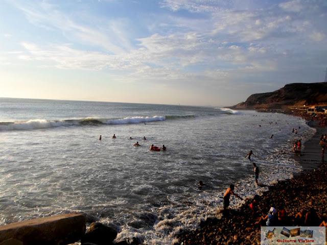 Playa La Herradura Chorrillos Lima