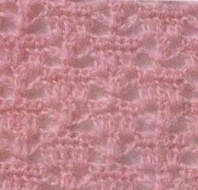 Patrón #849: Punto Calado a Crochet