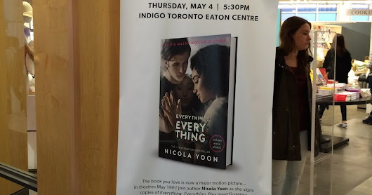 Everything, Everything Book Signing and Movie Screening!