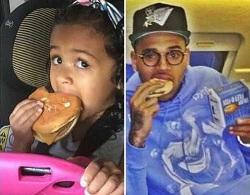 Chris Brown Shares Adorable Photo With Daughter