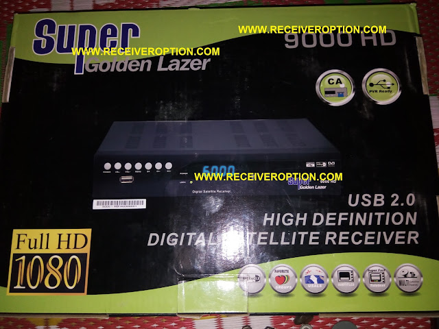 HOW TO CONNECT WIFI IN SUPER GOLDEN LAZER 9000 HD RECEIVER