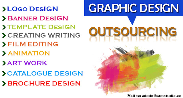Outsource graphic design company