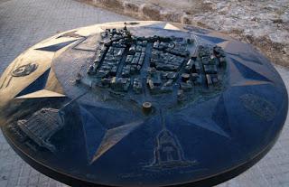 Representació de la ciutat de l'Alguer per Teresa Grau Ros